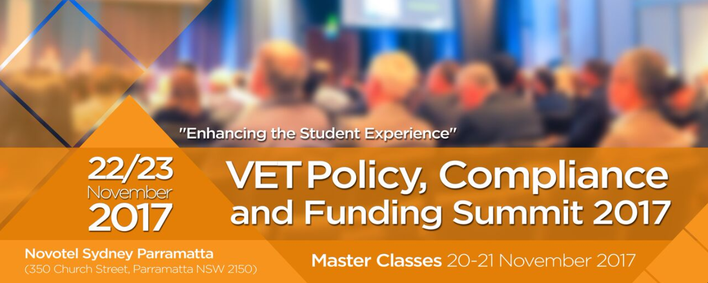 Insources VET Policy, Compliance and Funding Summit 2017